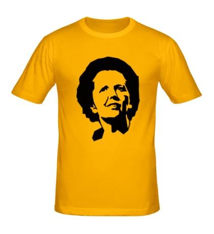 Мужская футболка Маргарет Тетчер