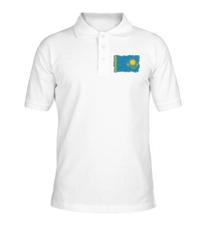 Рубашка поло Флаг Казахстана