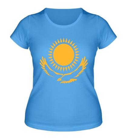 Женская футболка Символ Казахстана