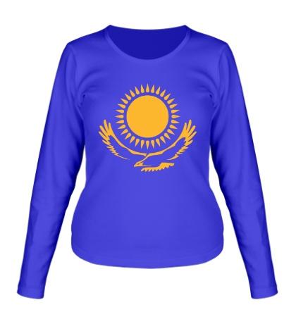Женский лонгслив Символ Казахстана