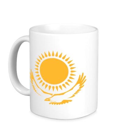 Керамическая кружка Символ Казахстана