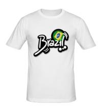 Мужская футболка Brazil Football 2014