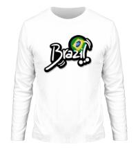 Мужской лонгслив Brazil Football 2014