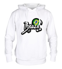 Толстовка с капюшоном Brazil Football 2014