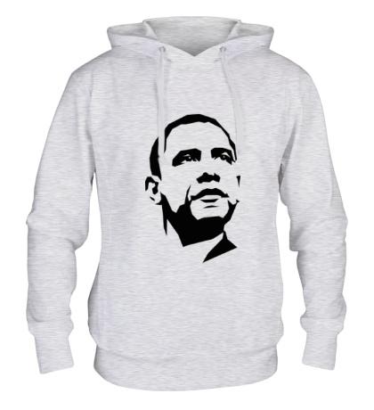 Толстовка с капюшоном Барак Обама
