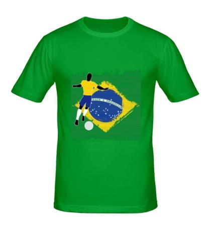 Мужская футболка Brazil Football