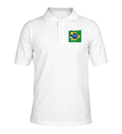 Рубашка поло Brazil Football