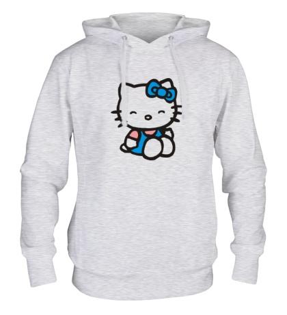 Толстовка с капюшоном Happy Kitty