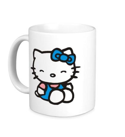 Керамическая кружка Happy Kitty