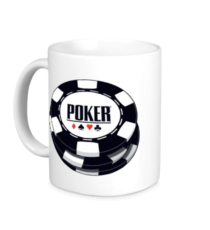 Керамическая кружка Poker