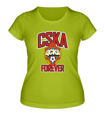Женская футболка FC CSKA Forever