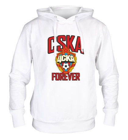 Толстовка с капюшоном FC CSKA Forever