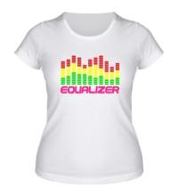 Женская футболка Equalizer