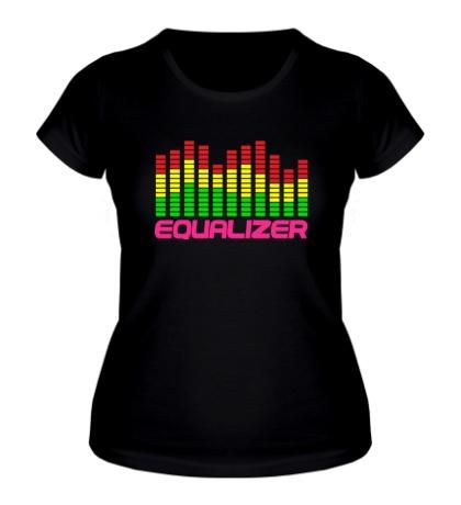 Женская футболка «Equalizer»