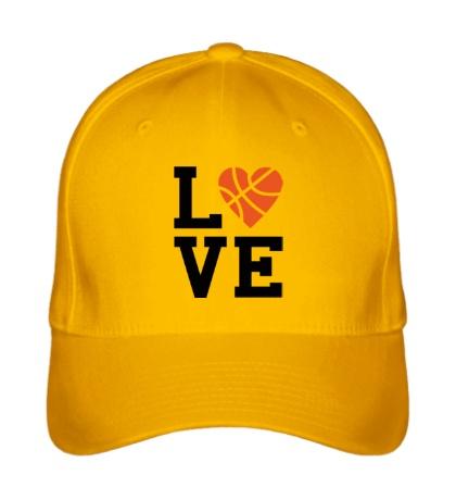 Бейсболка Basketball Love