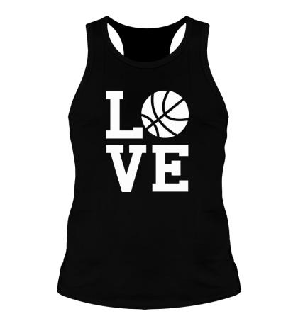 Мужская борцовка Влюблен в баскетбол