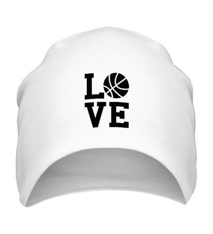 Шапка Влюблен в баскетбол