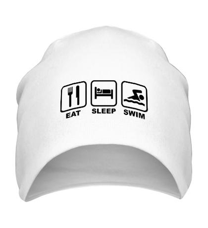 Шапка Еда, сони плавание