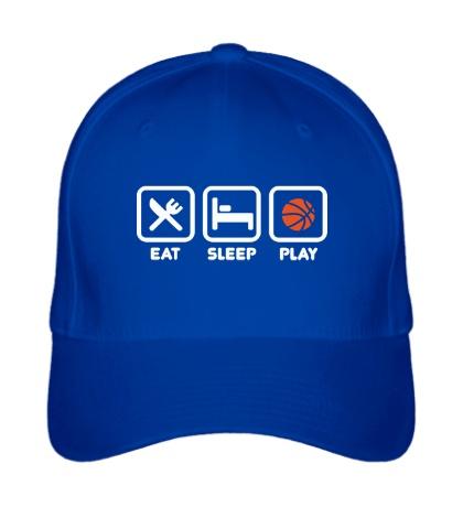 Бейсболка Eat Sleep Basketball
