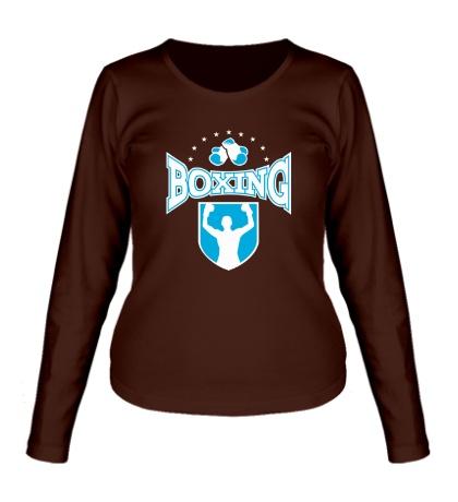 Женский лонгслив Boxing Champion