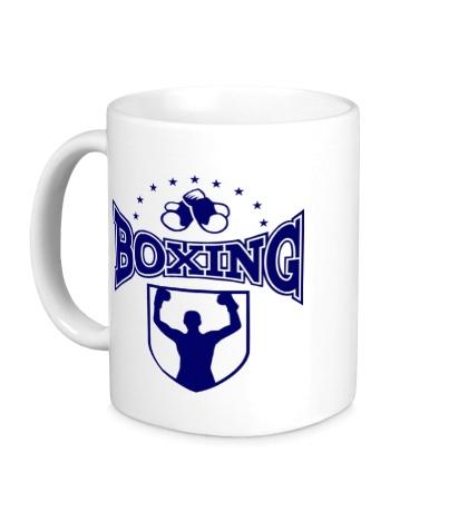 Керамическая кружка Boxing Champion