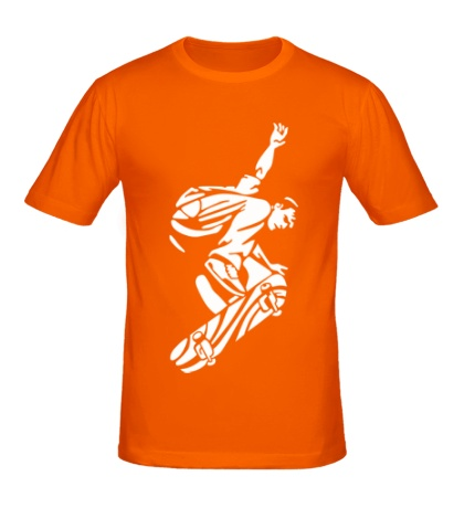 Мужская футболка Уличный скейтер