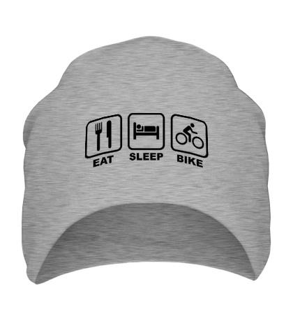 Шапка Eat Sleep Bike