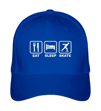 Бейсболка Eat sleep skate
