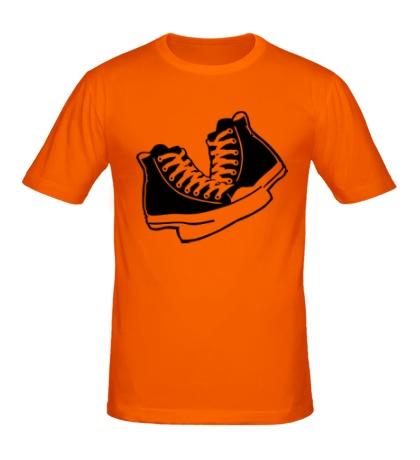 Мужская футболка Уличные кеды