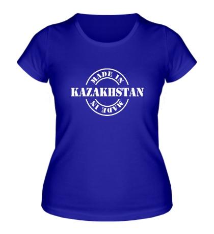 Женская футболка Made in Kazakhstan