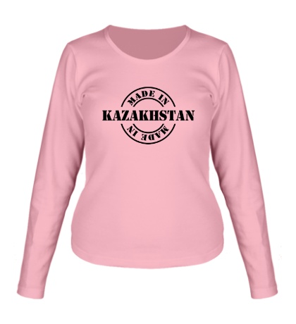 Женский лонгслив Made in Kazakhstan