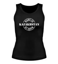 Женская майка Made in Kazakhstan