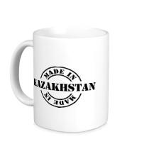 Керамическая кружка Made in Kazakhstan