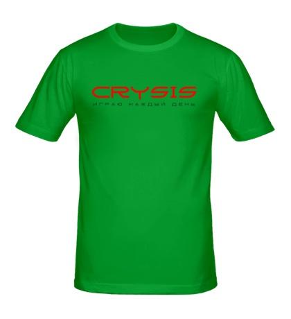 Мужская футболка Crysis Every Day