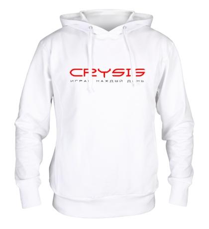 Толстовка с капюшоном Crysis Every Day