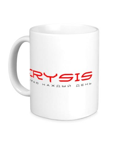 Керамическая кружка Crysis Every Day