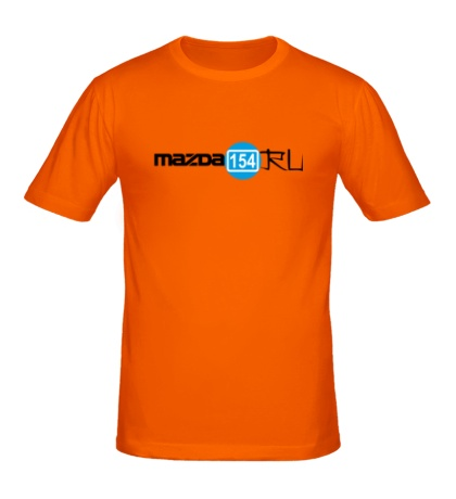 Мужская футболка Мазда 154 ru