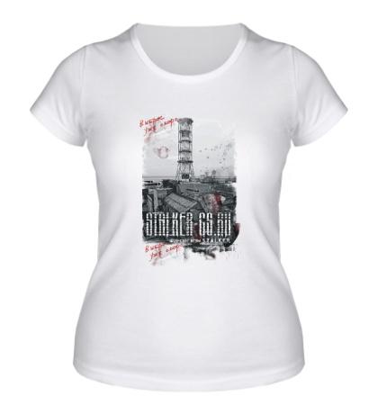 Женская футболка Stalker CS