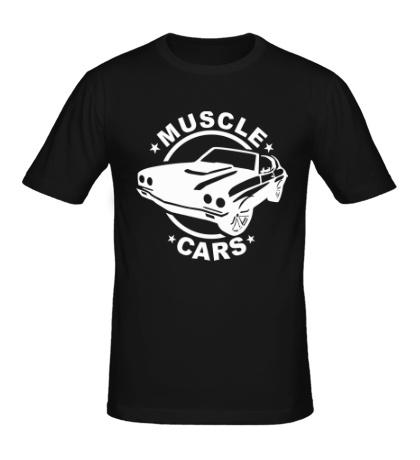 Мужская футболка Muscle cars