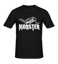 Мужская футболка Moto Monster