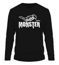 Мужской лонгслив Moto Monster