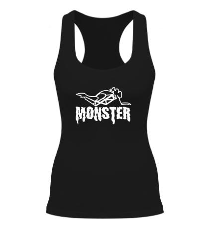 Женская борцовка «Moto Monster»