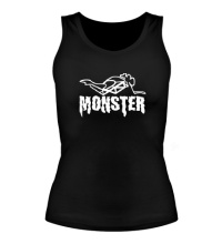 Женская майка Moto Monster
