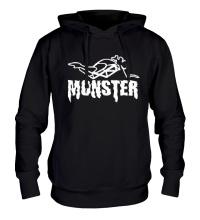 Толстовка с капюшоном Moto Monster
