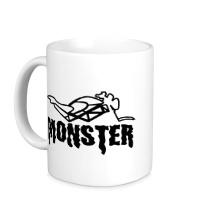 Керамическая кружка Moto Monster