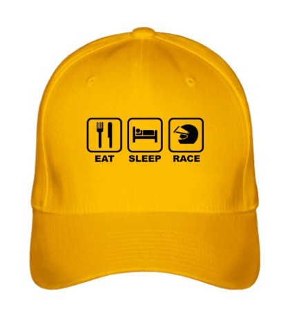 Бейсболка Eat Sleep Race