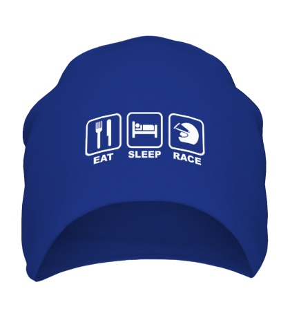 Шапка Eat Sleep Race