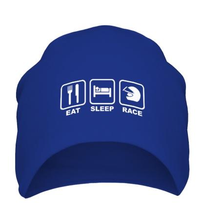 Шапка Eat Sleep Race