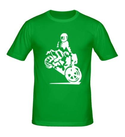 Мужская футболка Истинный байкер