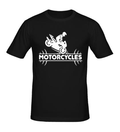 Мужская футболка Motorcycles